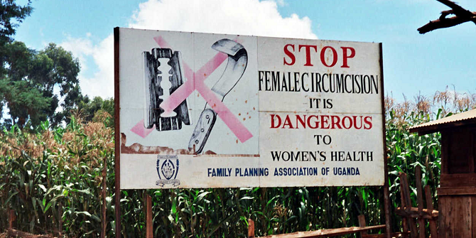 FGM Road sign