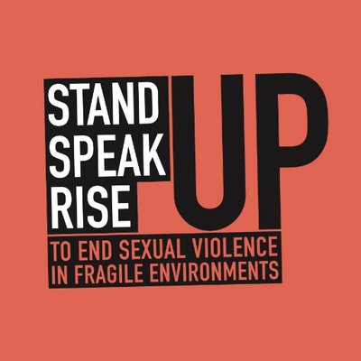Standup Speakup Riseup to end sexual violence in fragile environments